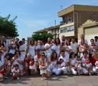 Premio al trabajo y solidaridad de la apyma en el cohete de Sartaguda