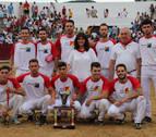 Triunfo navarro en el certamen nacional de recortadores Ciudad de Estella