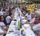 Una 'paella solidaria' para 400 en Estella