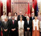 Los trece consejeros del nuevo Gobierno foral toman posesión de sus cargos