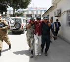Al menos 95 heridos en Kabul en un atentado con un vehículo cargado de explosivos
