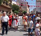 Barillas escolta a su patrón San Miguel