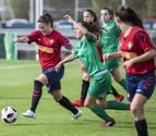 Un discutido penalti en el descuento priva a Osasuna Femenino de ganar en Lezama