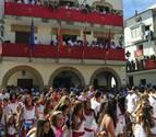 El cohete estalla en Funes y da comienzo a ocho días festivos