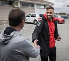 El regreso inesperado de Rober Ibáñez a Osasuna