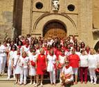 Las mujeres, protagonistas en las fiestas de Funes