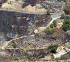 El segundo incendio declarado en Gran Canaria baja de intensidad