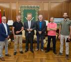 Los Municipios del Camino informan al alcalde de Pamplona de sus actividades