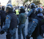 Agreden a un Guardia Civil en Alsasua mientras identificaba a cuatro personas por cruzar contenedores