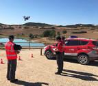 Los drones de la Policía Foral vigilarán el embalse deAlloz durante el fin de semana
