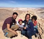 La vuelta a América de la navarra Cristina Saraldi, en familia