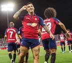 Chimy Ávila toma el mando en la victoria de Osasuna