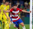 Villarreal y Granada empatan bajo un chaparrón de goles