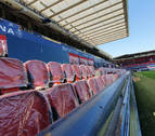 El Sadar compaginará fútbol y obras en curso
