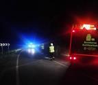 Investigado un conductor tras volcar en Arizkun y dar positivo en alcoholemia