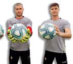El balón oficial de la Liga, un nuevo amigo en la portería de Osasuna