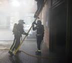 Sofocado un incendio en un bar en la zona del Parque de Yamaguchi de Pamplona