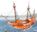 270 robles de la Sakana aseguran el esqueleto de la nao San Juan