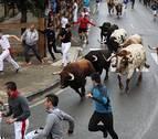 Último encierro en Tafalla sin heridos