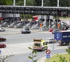 Navarra cierra el tráfico de camiones en sentido Francia desde la noche del viernes