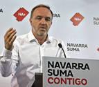 Esparza: &quotEs un escándalo que el PSOE acepte echar a la Guardia Civil de Navarra