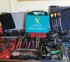 Detenido por robar a un electricista de Peralta material por valor de 5.000 euros