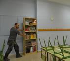 San Adrián invierte 70.000€ en la puesta a punto del colegio público