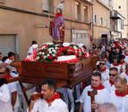 Ribaforada se vuelca con San Bartolomé