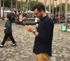 Javier Felones, un navarro profesor de castellano en China