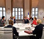 El ministro de Exteriores de Irán llega por sorpresa a la cumbre del G7 en Biarritz
