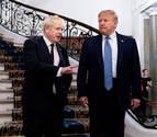 Trump promete a Johnson un acuerdo comercial rápido tras el 'brexit'
