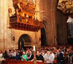 Las avemarías de distintos compositores abarrotan el Monasterio de Fitero