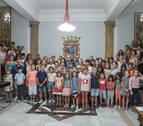Los niños de Chernóbil que han pasado el verano en Navarra vuelven a casa