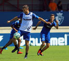 Oier trabaja de forma parcial con el grupo en el regreso de Osasuna a los entrenamientos