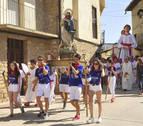 Los quintos portan a la Virgen en Murillo