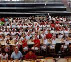 'Juego de Arroz' en las fiestas de Ribaforada