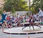 Tudela acoge la primera función del Festival de circo de Navarra