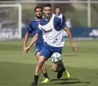 Oier y David García, descartados para el Bernabéu por lesión