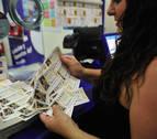 Aumenta la venta de lotería de Navidad en Tafalla tras las inundaciones