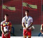 Cuatro navarros logran medalla el primer día de competición en el circuito de Antoniutti