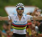 Valverde abandona y no revalidará el 'arcoíris'