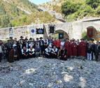 Los Tenampas y Osasuna femenino, cofrades de honor del Queso Roncal
