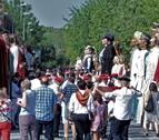 Gran reunión de comparsas en Sangüesa