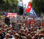 Miles de británicos claman en las calles contra la clausura del Parlamento