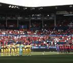 Osasuna envía 215 entradas al Alavés a un precio de 25 euros cada una