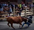 Herido en la cabeza un joven de 16 años en Berriozar por el pisotón de una vaquilla