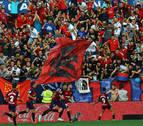 Osasuna demuestra contra el Barcelona que ha llegado a Primera con el aroma de siempre