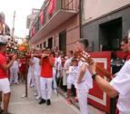 Los milagreses salen a la calle por San Blas