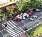 Los vecinos denuncian los pasos de peatones ilegales de Pamplona