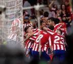 Remontada, épica y liderato del Atlético de Madrid